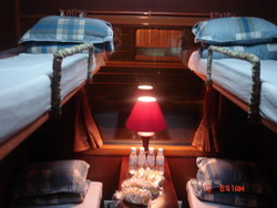 Soft berths in Royal train, Hanoi Sapa Lao Cai train tickets information