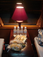 Snacks in Royal train, Hanoi Sapa Lao Cai train tickets information